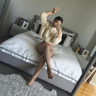 shoes heels blouse