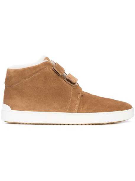 Rag & Bone fur faux fur women leather suede brown shoes