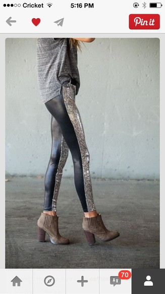 pants leggings printed leggings