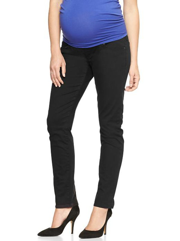 gap 1969 full panel black legging jeans womens demi panel 589032000 jeans