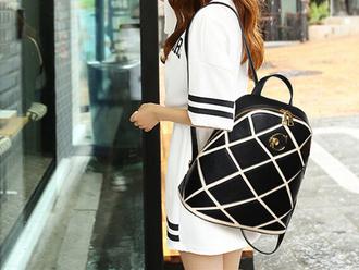 bag backpack black backpack