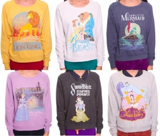 sweater disney warm sweater old school old looking shirt