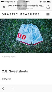shorts,blue,sweatshorts