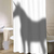 Unicorn In The Shower Curtain Shadow - myshowercurtains