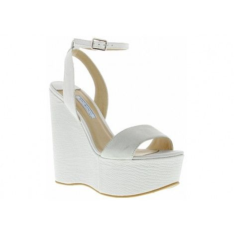 Tony Bianco Shelby White Wedges Size 6 | eBay