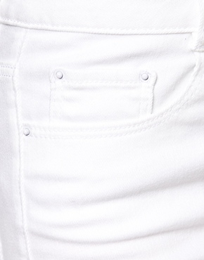 ASOS | ASOS Ridley High Waist Ultra Skinny Jeans in White at ASOS