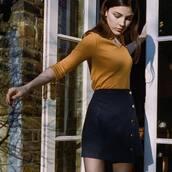 skirt,blue skirt