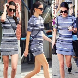 Striped dress from heather's closet on poshmark