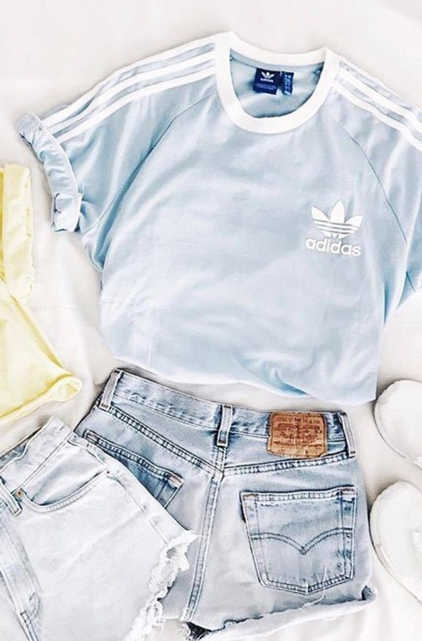 shirt baby blue adidas baby blue t-shirt sportswear sporty sporty jersey sporty outfit blue blue shirt blue top adidas adidas shirt blue and white logo adidas logo adidas logo t-shirt tumblr tumblr outfit tumblr girl tumblr shirt tumblr top tumblr fashion tumblr style tumblr aesthetic tumblr t-shirt tumblr baddie tumblr ootd summer outfit outfit idea white please help me find it help find this