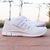 Women's Nike Free 5.0 w/ Swarovski Rhinestones - White / Glitterfix