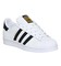 Adidas superstar gs white black foundation