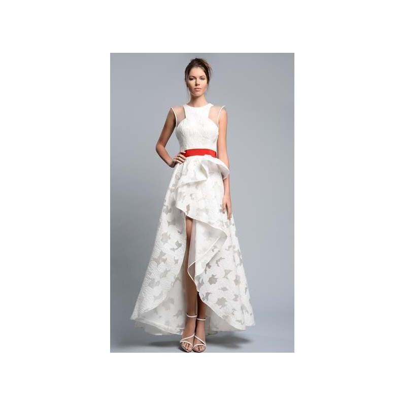 Gemy Maalouf Spring Summer 2016 CPS16 4625 -  Designer Wedding Dresses|Compelling Evening Dresses|Colorful Prom Dresses