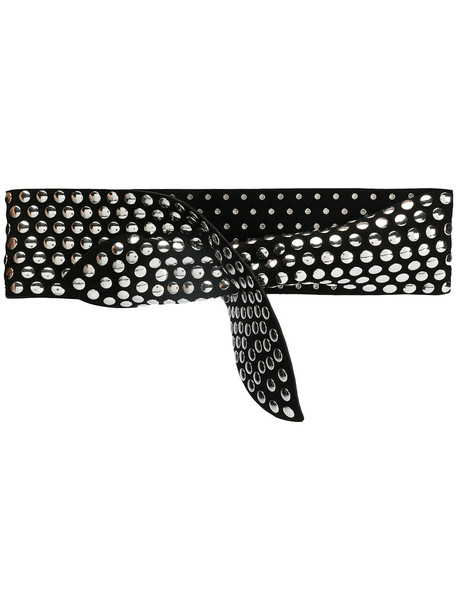 studded belt studded belt black