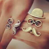 jewels,ring,moustache,gold,silver,glasses,clothes,jewelry,hat