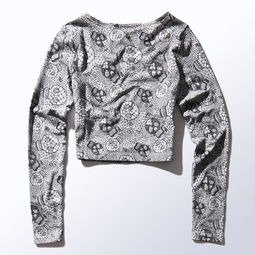 adidas Selena Gomez Printed Lace Top | adidas UK