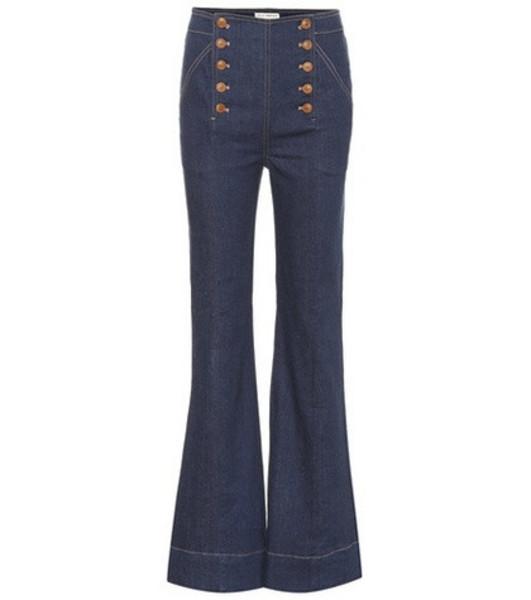 Ulla Johnson Ellis high-rise jeans in blue