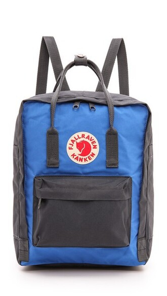 backpack blue bag
