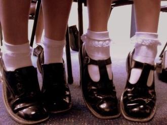 shoes mary janes flatforms grunge soft grunge socks white