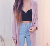 jeans,high waisted,acid wash,cute,crop tops,cardigan,winter outfits,sweater,jacket,pink,knitwear,tank top,black,top,cute outfits,summer,summer outfits,style me,pink dress,warm