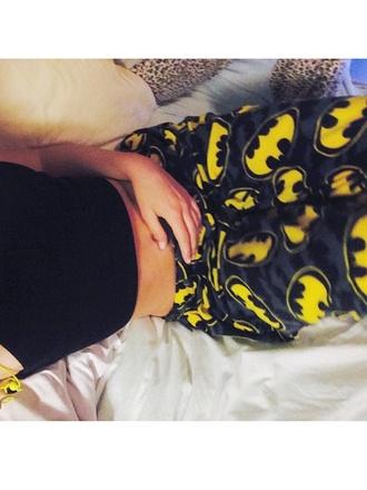 pajamas black and yellow yellow batman pajamas bat bats batman