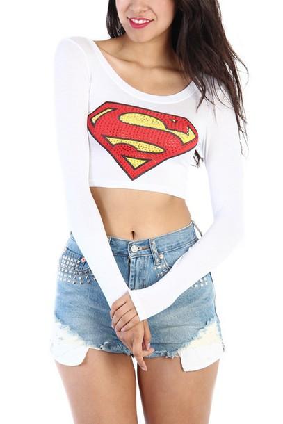top superman shirt