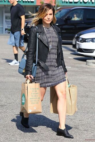 dress shoes sophia bush jacket biker jacket purse bag