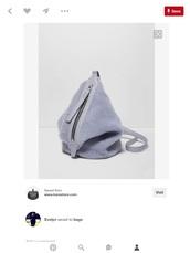 bag,grey bag,shoulder bag,furry bag