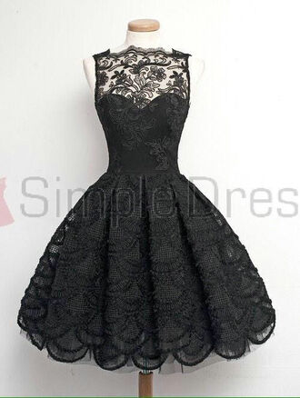 dress little black dress 1950s vintage dress homecoming dress short homecoming dress prom dress lace homecoming dress cocktail dress 16 birthday dress
