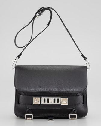 Proenza Schouler PS11 Classic Shoulder Bag, Black - Neiman Marcus