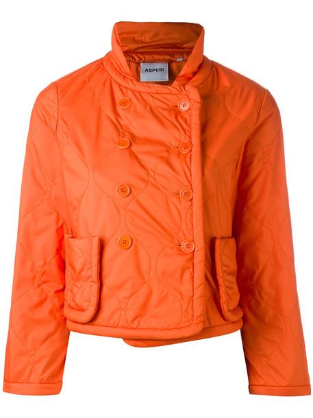 ASPESI jacket women yellow orange