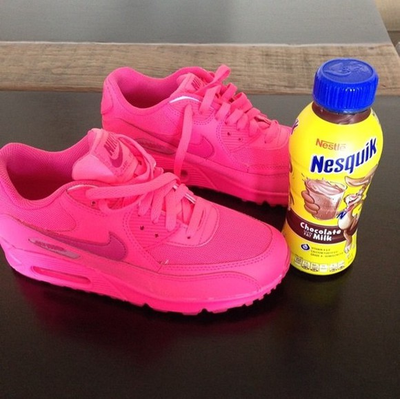 shoes pink hot pink draya nike free run nike nike air nike airmax running shoes