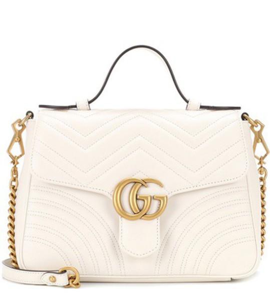 gucci bag shoulder bag white