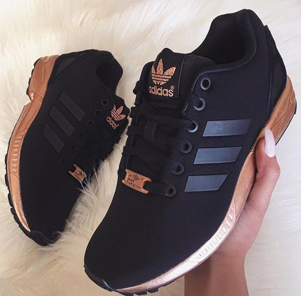 shoes black and gold low top sneakers adidas black sneakers