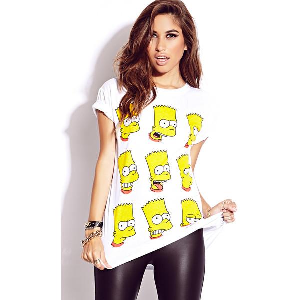FOREVER 21 Bart Simpson Tee