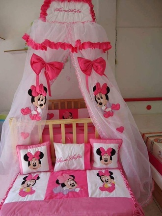 home accessory cot set mickey mouse cot crib mini mouse cot set