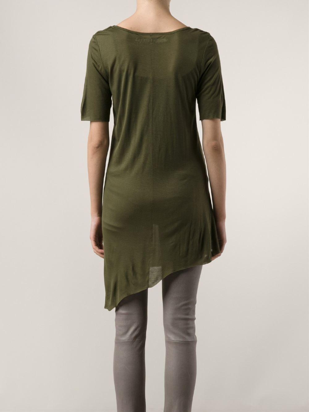 Ødd. Asymmetrical T-shirt - Odd. - Farfetch.com