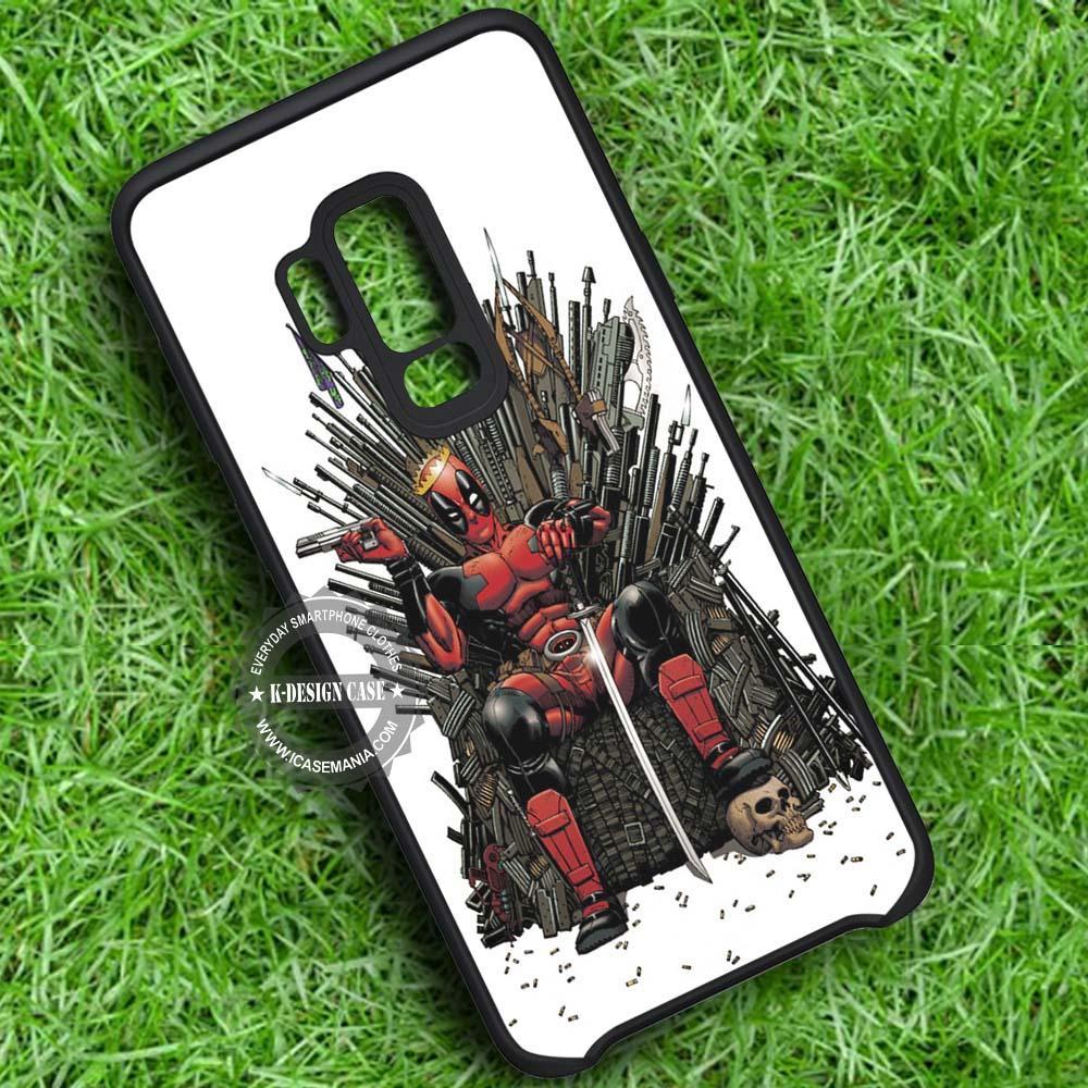 Deadpool Marvel iPhone X 8 7 Plus 6s Cases Samsung Galaxy S9 S8 Plus S7 edge NOTE 8 Covers #SamsungS9 #iphoneX
