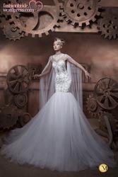 Online Shop Luxury&fashionable sexy sweetheart beaded crystal pattern lace T back mermaid designer Lebanon wedding dress 2014 long tail|Aliexpress Mobile