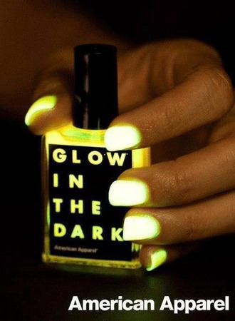 nail polish neon grunge wishlist halloween makeup new year's eve nails glow in the dark in the dark
