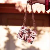 bag,tumblr,pink bag,mini bag,dionysus,floral bag,chain bag,gucci,gucci bag