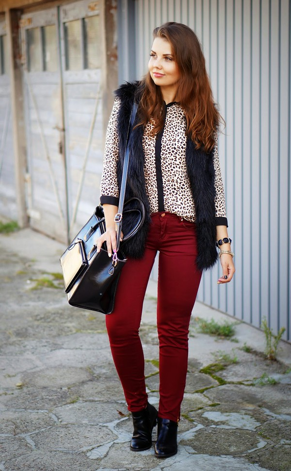 a piece of anna blogger bag jacket shoes pants shirt