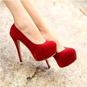 shoes,red,burgundy,high heels,stilettos,girly,elegant,velvet,pretty,perfect,date outfit,fancy,wedding