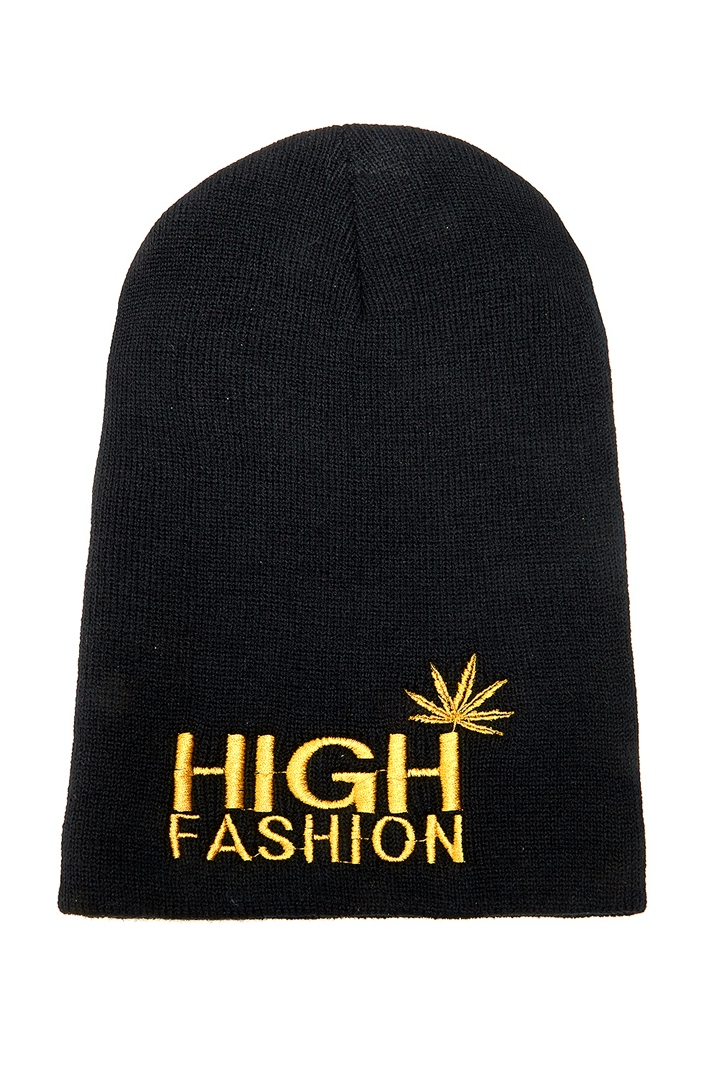 High Fashion Beanie - Black from ROXX at ShopRoxx.com
