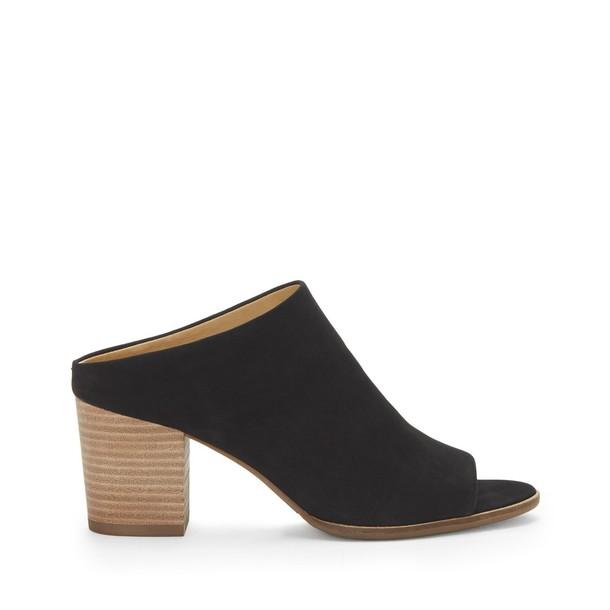 Lucky Brand Organza Slip On Mules - Black-7