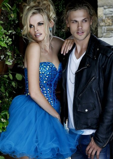 Rhinestone Beaded Top Royal Corset Prom Dress by Sherri Hill 21101 [Sherri Hill 21101 Royal] - $188.00 : Prom Dresses 2014 Sale, 70% off Dresses for Prom