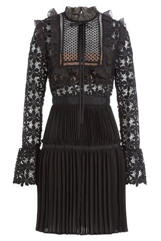 dress lace dress lace black