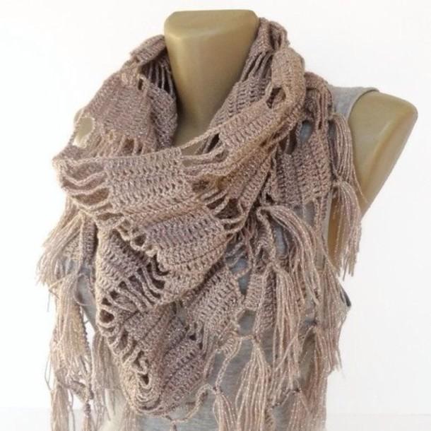 scarf crochet scarf scarves fashion knitted scarf women scarf shawl senoaccessory etsy cute outfits
