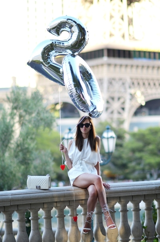 vogue haus blogger jumpsuit shoes bag sunglasses jewels chanel boy bag chanel boy boy bag
