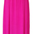 Deep V Neck Maxi Dress Hot Pink