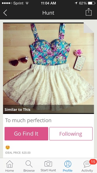 crop tops floral top white lace